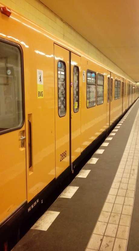 Berliner U-Bahn by MrLove